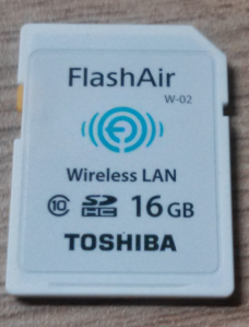 Toshiba FlashAir 16GB SD-Wifi