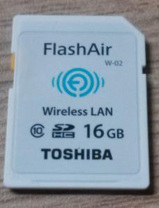 Toshiba FlashAir 16GB SD-Wifi